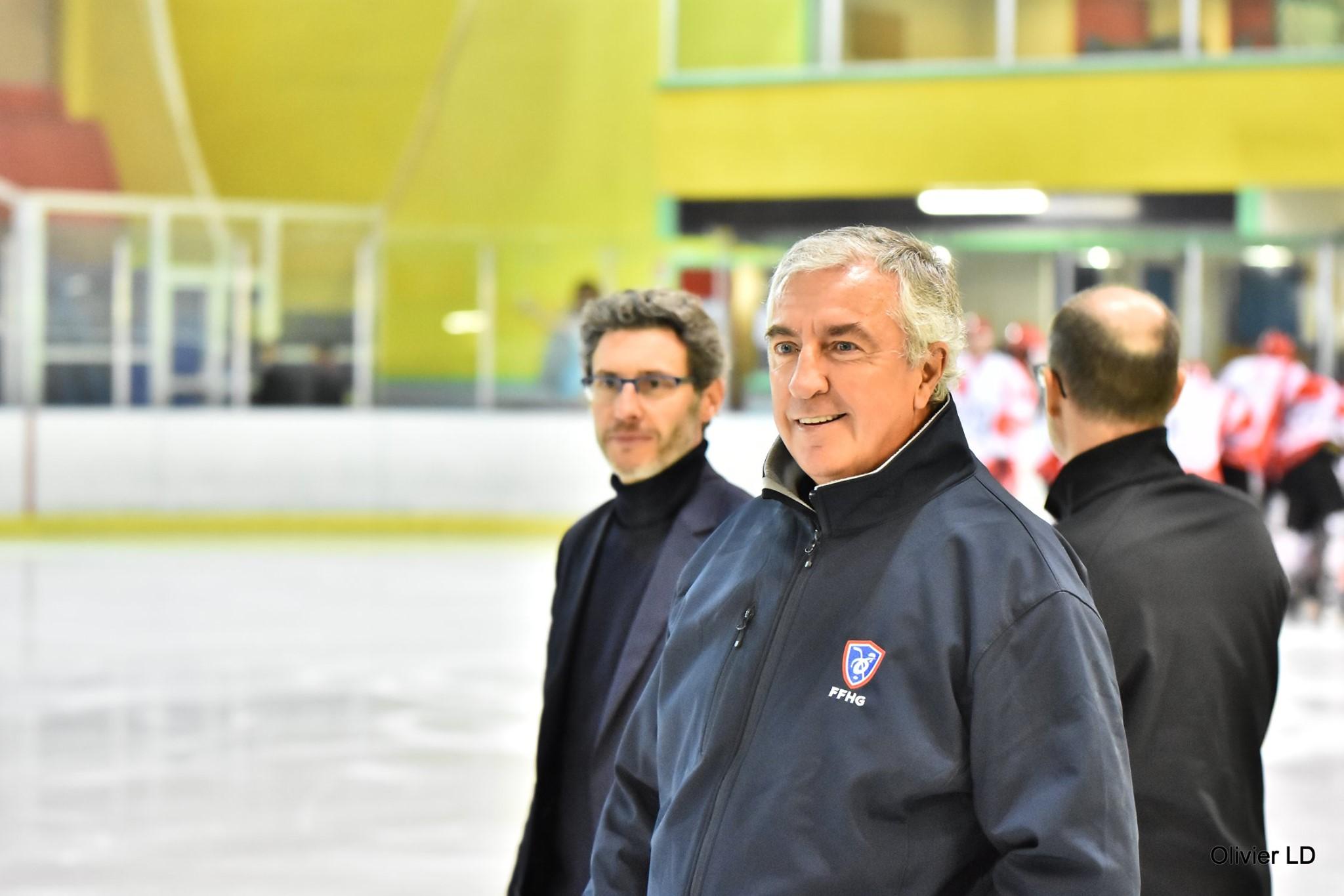 Luc Tardif, Président de la fédération française de hockey sur glace